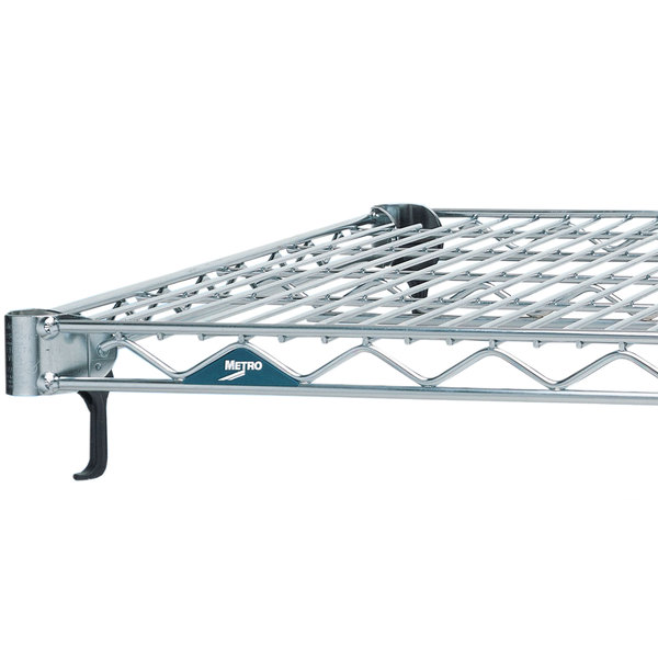 """Metro A2442NS Super Adjustable Stainless Steel Wire Shelf - 24"""" x 42"""""""