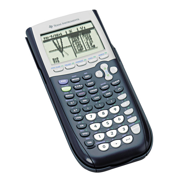 Texas Instruments TI-84 Plus 10-Digit LCD Programmable Graphing Calculator Main Image 1