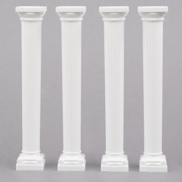 "Wilton 303-3705 7"" Grecian Cake Pillars"