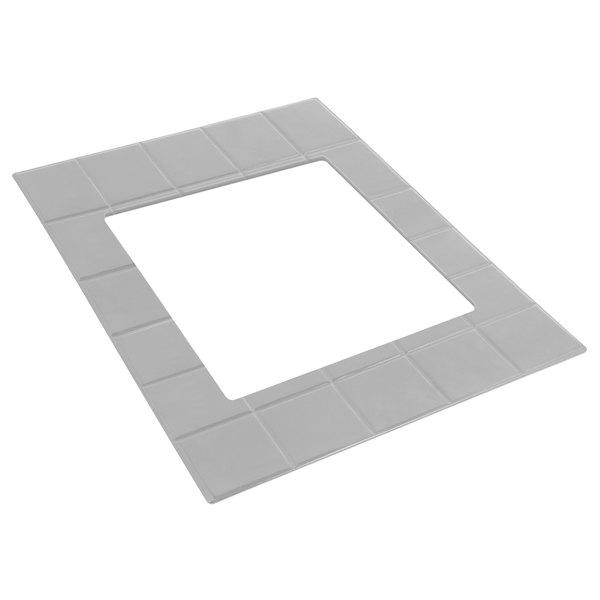 Bon Chef 52036P E-Z Fit Pewter-Glo Double-Size Tile for 2082