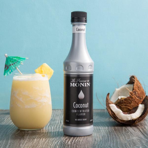 Monin 375 mL Premium Coconut Concentrated Flavor Main Image 2