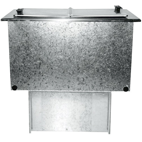 Delfield 225L 6 Gallon Drop In Freezer with Clear Acrylic Lids