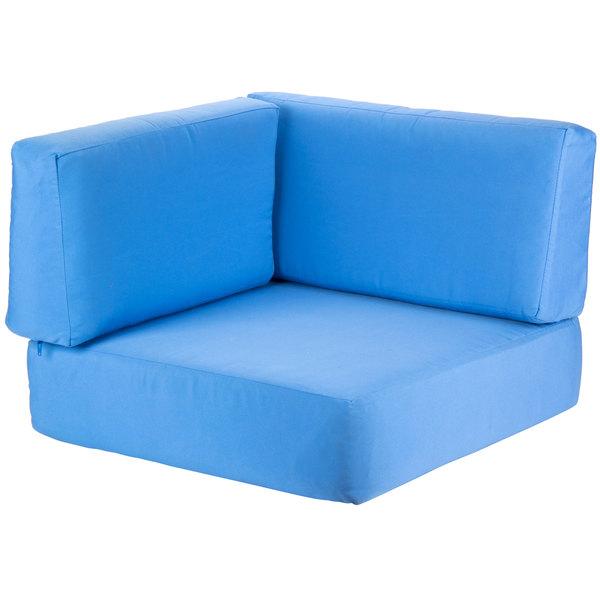BFM Seating PH6101C-CU Belmar Canvas Corner Cushion Set Main Image 1