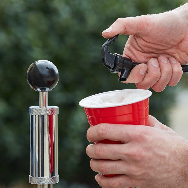 "Backyard Pro BEERPUMP4 4"" Party Pump Keg Tap - ""D"" American Sankey System Main Image 5"