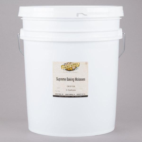 Golden Barrel 5 Gallon Sulfur-Free Supreme Baking Molasses Main Image 1