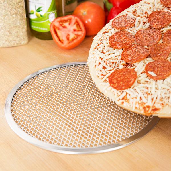 """10"""" Aluminum Pizza Screen Main Image 3"""