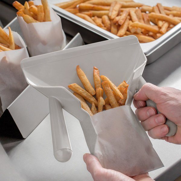 LEFT HANDLE FRENCH FRY BAGGERS