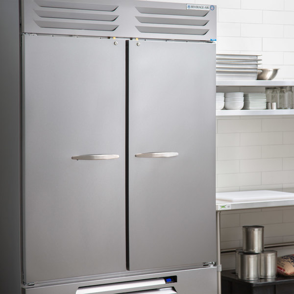 "Beverage-Air FB49HC-1S 52"" Vista Series Solid Door Reach in Freezer Main Image 4"