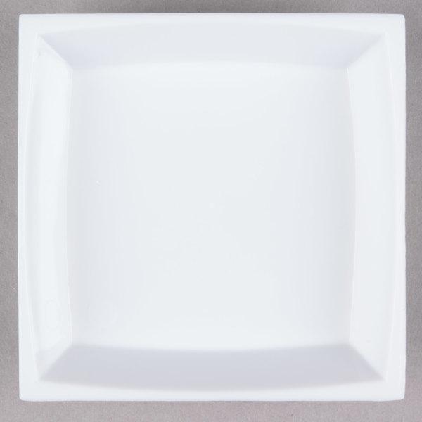 WNA Comet APTSQ25 Petites 2 1/2 inch White Square Dish - 50/Pack