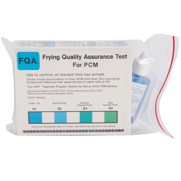 MirOil FQA 48PCM Frying Oil Test for Polar Contaminant Material - 48/Box
