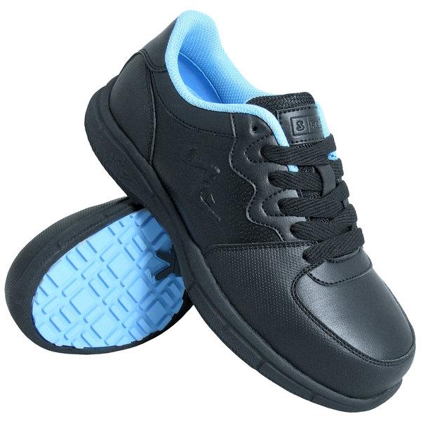 Genuine Grip 520 Women's Black Composite Toe Athletic Non Slip Shoe
