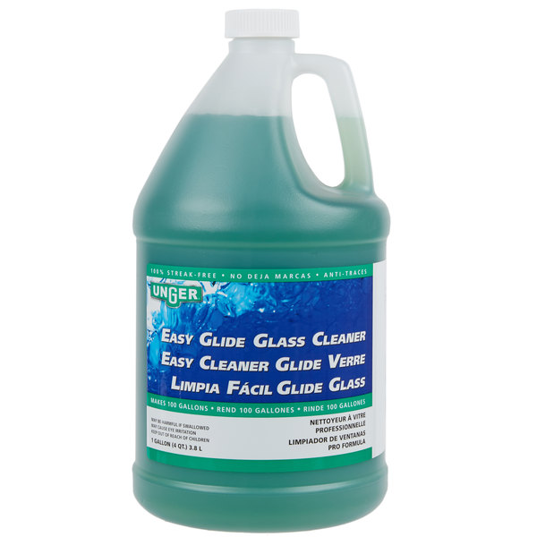 Unger FR380 1 Gallon EasyGlide Concentrated Glass Cleaner