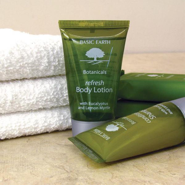 Basic Earth Botanicals Hotel and Motel Body Lotion 1 oz. Bottle - 300/Case
