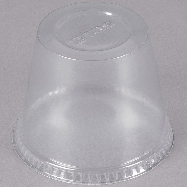Dart Solo DLR100-0090 Sundae Cup Dome Lid - 1000/Case
