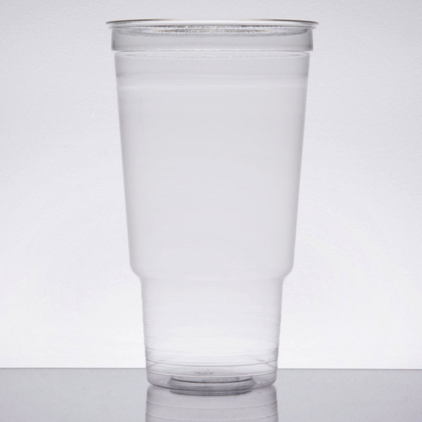 Dart Solo UltraClear 32AC 32 oz. Clear PET Plastic Cold Cup  - 25/Pack