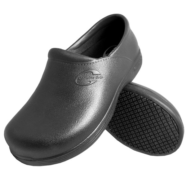 Genuine Grip 3800 Men's Black Ultra Light Waterproof Non Slip Injection Clog Main Image 1