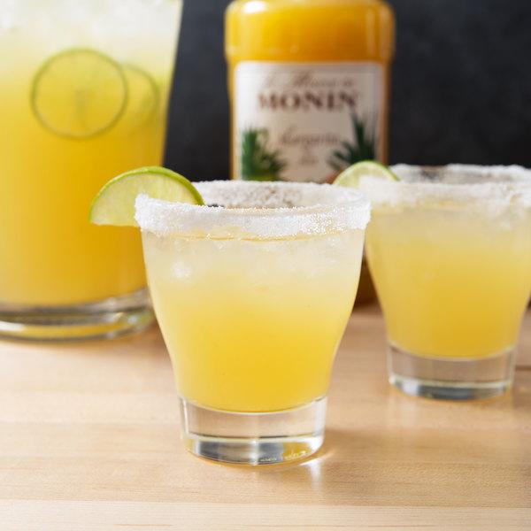 Monin 1/2 Gallon Natural Concentrated Margarita Mix