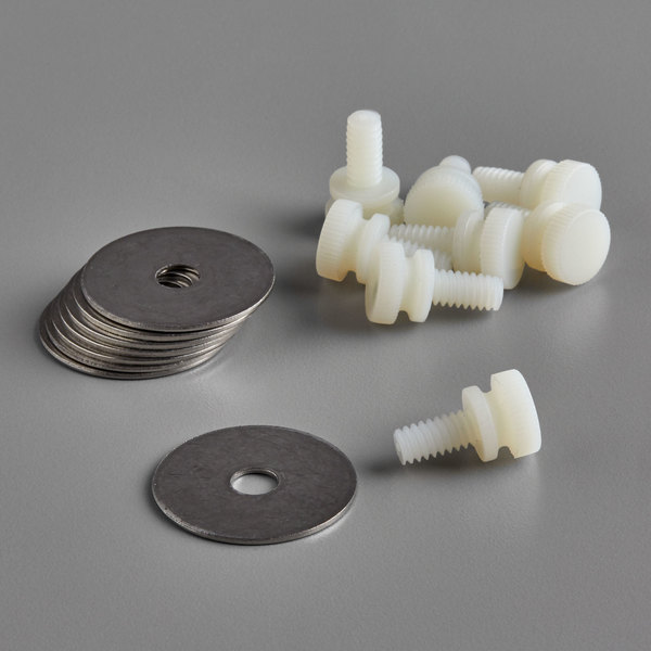 Cambro H10009 Thumb Screw and Washer Kit for Versa® Ultra Work Tables and Ultra Food / Salad Bars Main Image 1