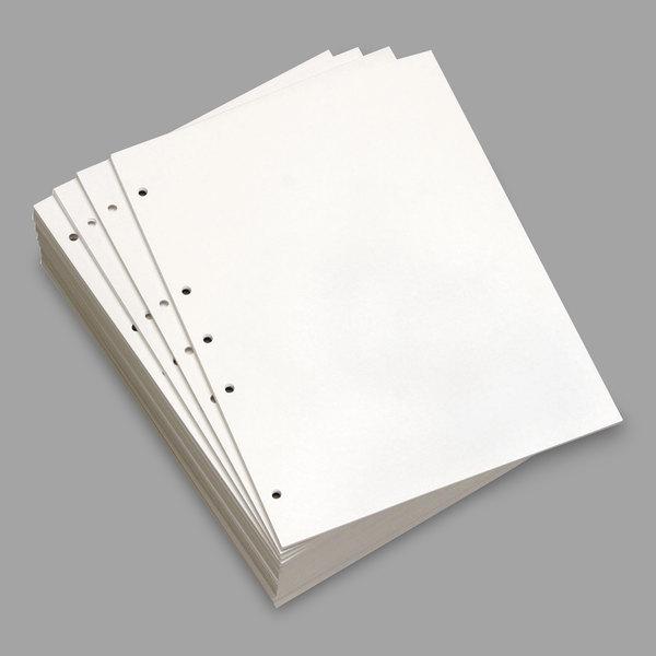 19-Hole DMR851191 8 -//2 x 11 Domtar Custom 20 lb Cut-Sheet Copy Paper White
