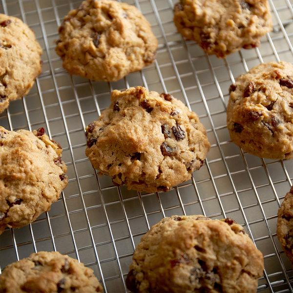David's Cookies 1.5 oz. Preformed Gluten Free Oatmeal Raisin Cookie Dough - 120/Case