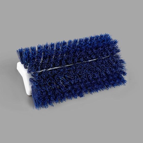 """Carlisle 4042314 Sparta Spectrum 10"""" Hi-Lo Blue Floor Scrub Brush"""