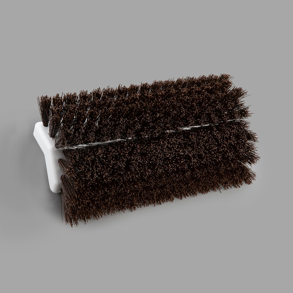 """Carlisle 4042301 Sparta Spectrum 10"""" Hi-Lo Brown Floor Scrub Brush"""