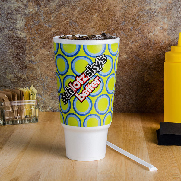 Dart 44AU32 Fusion 44 oz. Foam Hot Cup - For Customization Only - 300/Case Main Image 2