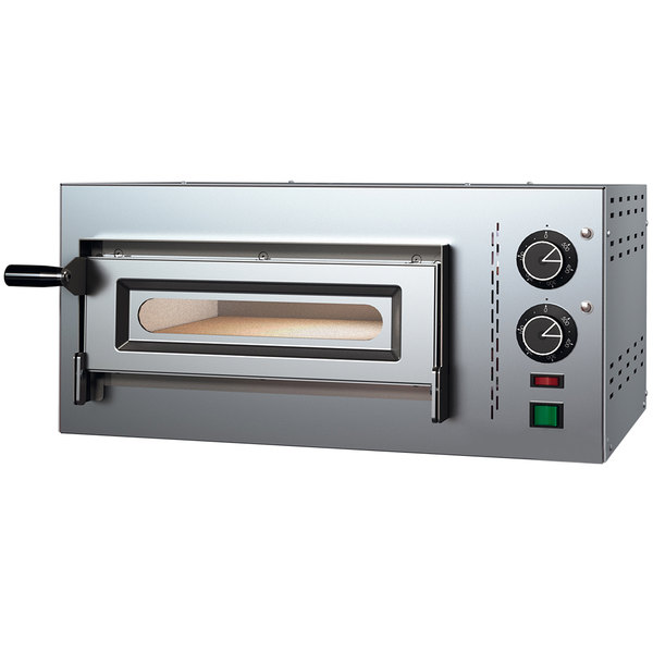 Electric Countertop 13 3 4 Single Deck Compact Series Pizza Oven 220v 1 Phase 2 2 Kw