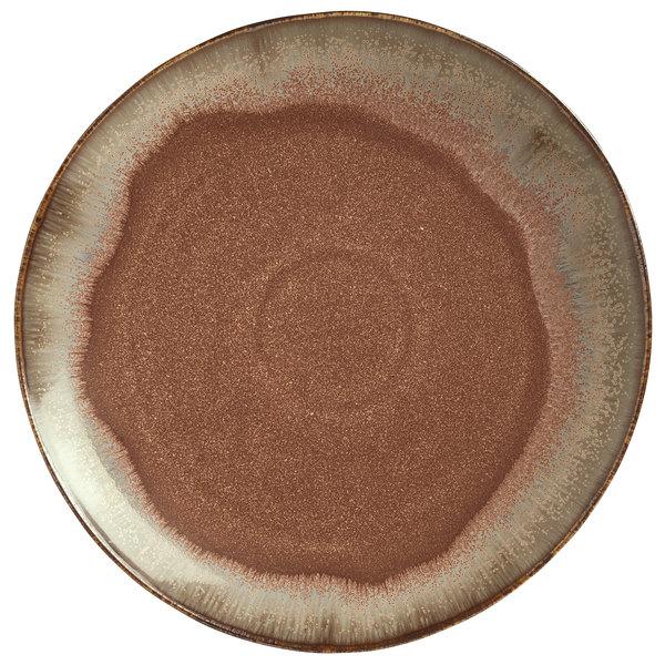 "World Tableware HEDON-3 Hedonite 11 7/8"" Porcelain Plate - 12/Case"