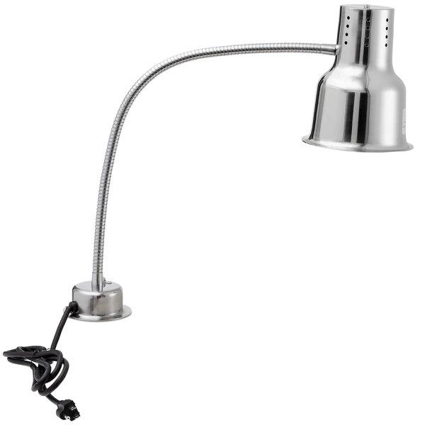 "Avantco HL24SS 24"" Single Arm Bulb Warmer Flexible Heat Lamp - 120V, 250W"