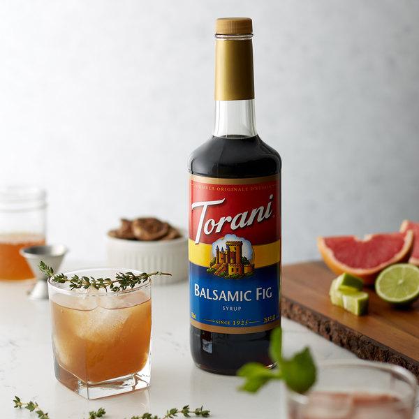 Torani 750 mL Balsamic Fig Flavoring Syrup