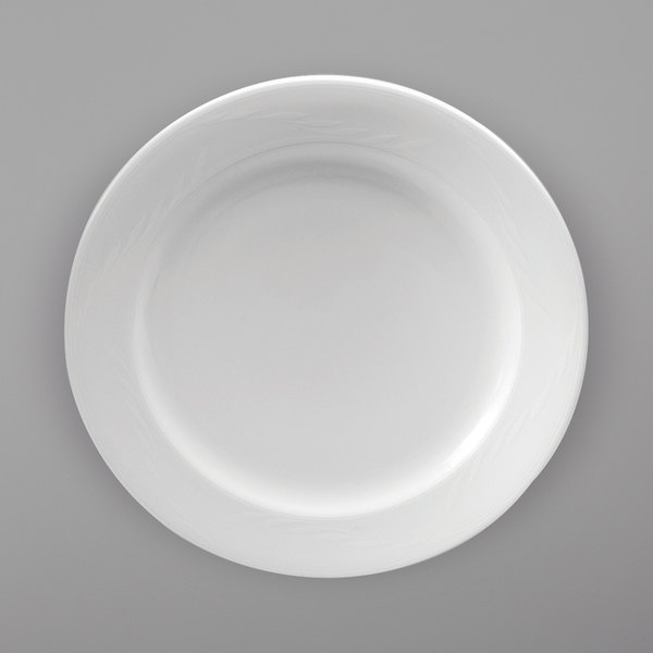 Oneida R4220000155 Royale 11 Bright White Porcelain Plate 12 Case