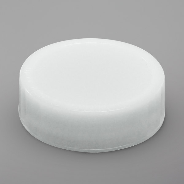 FIFO Innovations 4810-100 White FIFO Label Cap - 6/Pack