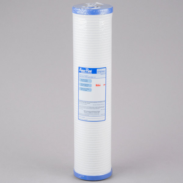 """3M Water Filtration Products CFS210-2 20"""" High Flow Retrofit Sediment Reduction Drop In Cartridge - 5 micron and 45 GPM Main Image 1"""