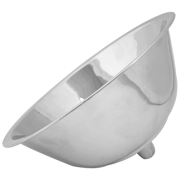 "Tabletop Classics by Walco LI386 9"" Nickel-Plated Candelabra Bowl Main Image 1"