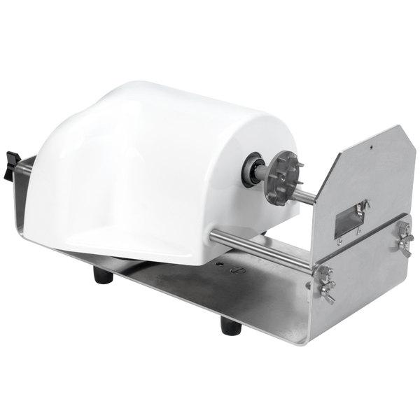 Nemco 55150B-WCT PowerKut Table Mount Wavy Chip Twister Fry Cutter - 120V Main Image 1