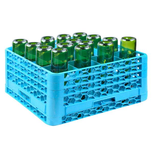 CMA Dishmachines 1157.00 16-Compartment Wine Bottle Washer Rack for CMA-180UC Dishmachines Main Image 1