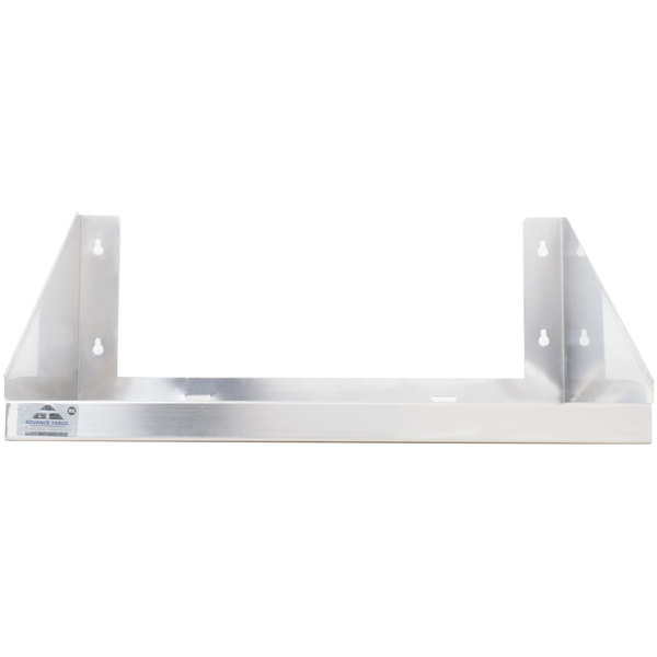 "Advance Tabco MS-24-36 36"" x 24"" Stainless Steel Microwave Shelf"