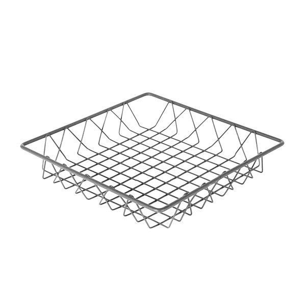 """Delfin WBK-12-PC62 Simply Steel 12"""" x 12"""" x 2"""" Steel Wire Bakery Basket Main Image 1"""