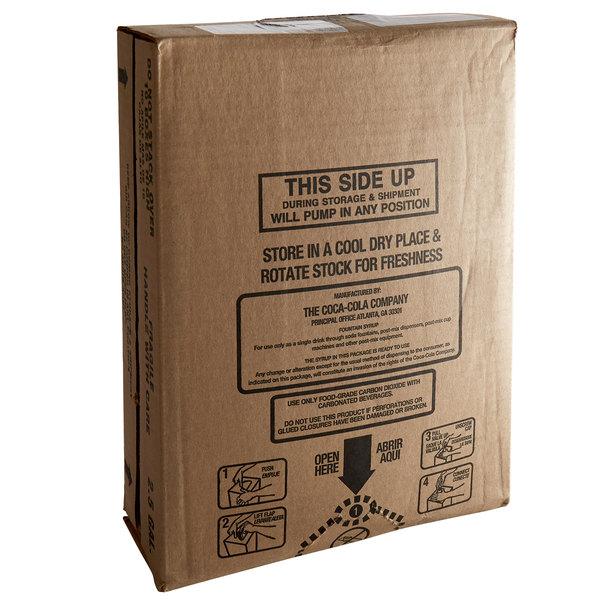Seagram's 2.5 Gallon Bag-in-Box Ginger Ale Soda Syrup