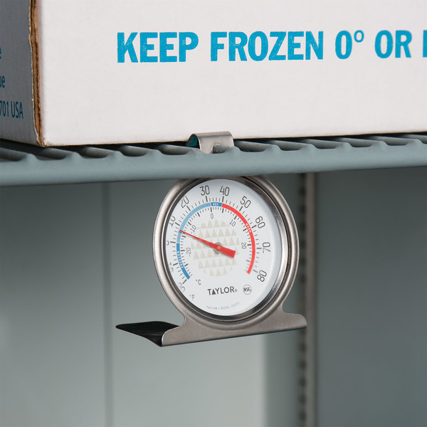 How long does it take for refrigerator thermometer