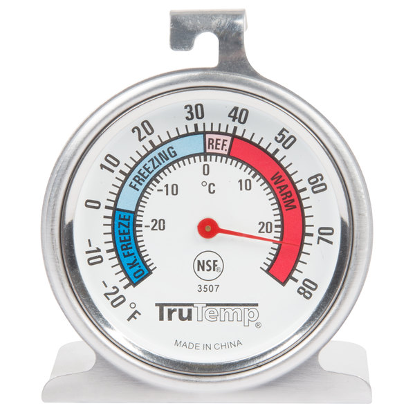 "Taylor 3507 TruTemp 2"" Freezer or Refrigerator Thermometer"