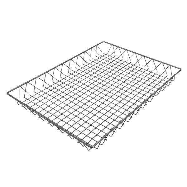 """Delfin WBK-2418-PC62 Simply Steel 24"""" x 18"""" x 2"""" Steel Wire Bakery Basket Main Image 1"""