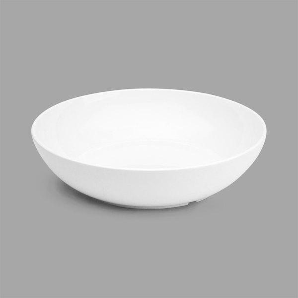 Delfin BRD-10AS-020 Pacific Rim White 80 oz. Round Melamine Bowl