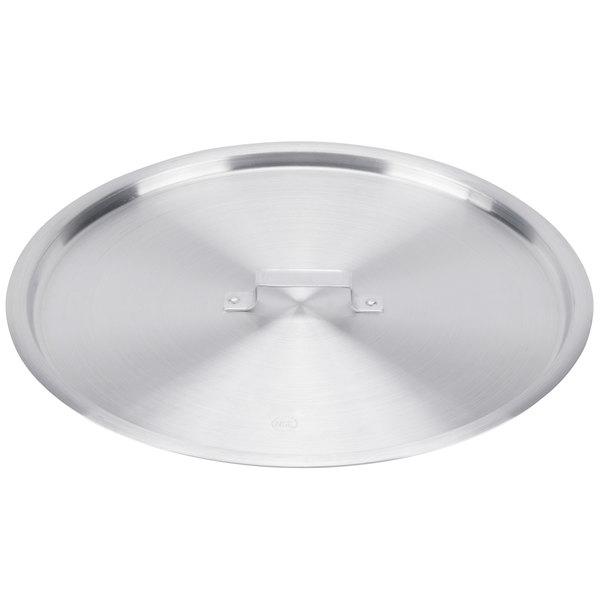 """Choice 22 1/2"""" Aluminum Pot / Pan Cover Main Image 1"""
