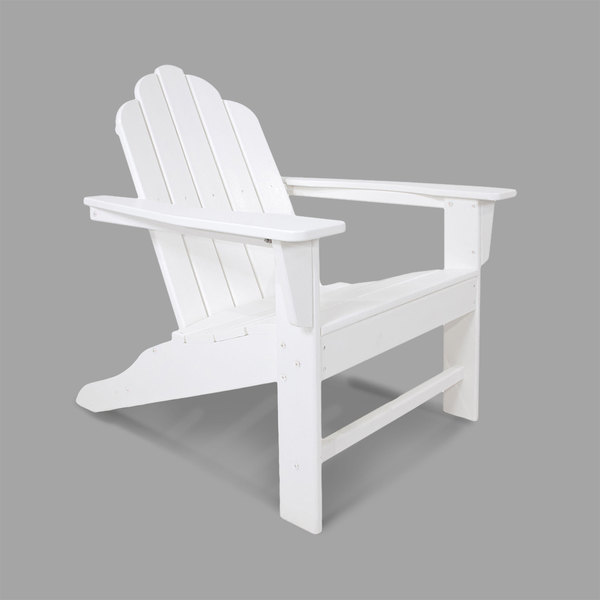 Awesome Polywood Eca15Wh White Long Island Adirondack Chair Bralicious Painted Fabric Chair Ideas Braliciousco
