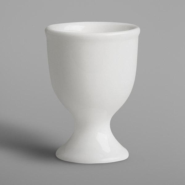 RAK Porcelain BAEG01 Banquet 1.5 oz. Ivory Porcelain Egg Cup - 6/Case Main Image 1