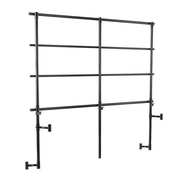 National Public Seating GRTPR3 Back Guardrail for 3-Level Trans-Port Risers Main Image 1