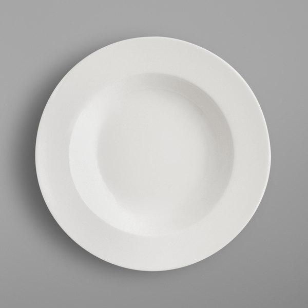 "RAK Porcelain BADP30 Banquet 11 13/16"" Ivory Porcelain Deep Plate - 6/Case"