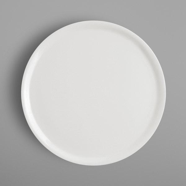 """RAK Porcelain BAPP33 Banquet 13"""" Ivory Porcelain Pizza Plate - 6/Case Main Image 1"""